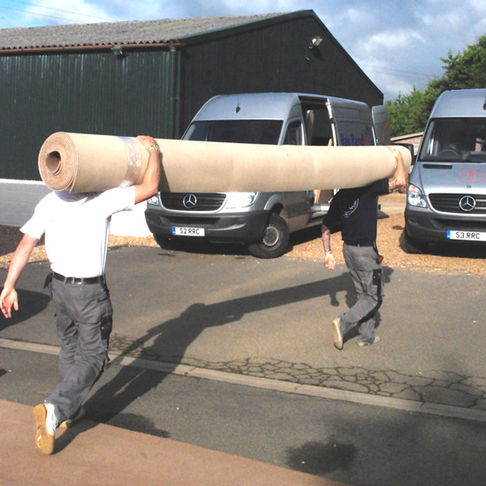 Carrying carpet