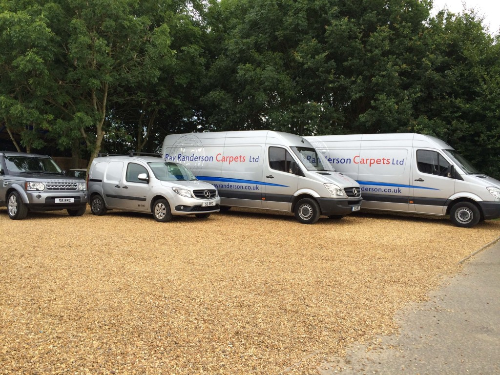Ray Randerson Carpets van fleet